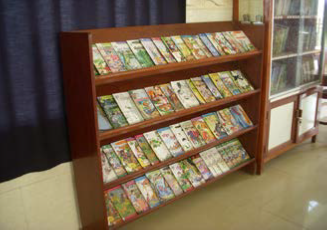 JSC picture story books. To build the habit  of reading and provide a good moral values